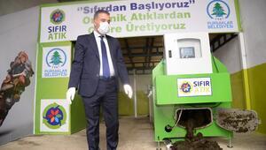 Organik gübre üretimi başladı