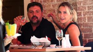Ece Erken ve sevgilisi Nişantaşında Belki beni Marmaris'te biliyorlar