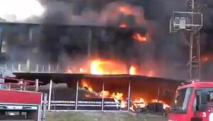 Son dakika haberler: Tokatta AVMde yangın çıktı