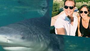 ABDde hamile kadın eşini köpekbalığı saldırısından kurtardı