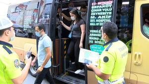 Küçükçekmece'de minibüsten 24 ayakta yolcu çıktı