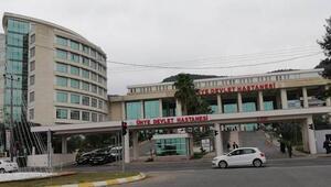 Hastanede oksijen tüpü patladı, sağlık çalışanı yaralandı