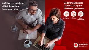 Vodafone Businesstan KOBİlere ücretsiz sektörel eğitim platformu