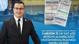 Mustafakemalpaşa Belediye Başkanı Kanar: Katı atık bedelini almayacağız