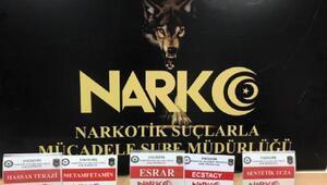 Eskişehir'de uyuşturucu operasyonu: 3 gözaltı