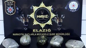 Elazığda uyuşturucu operasyonlarında 3 şüpheli tutuklandı