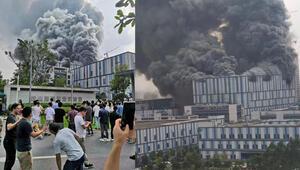 Son dakika: Çin'de Huawei laboratuvarında dev yangın