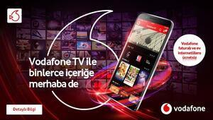 Vodafone TV ile binlerce içeriği dilediğiniz yerden izleyin