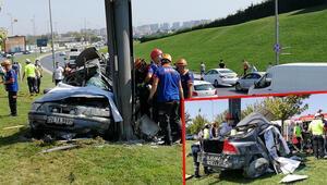 Son dakika haberler: Görenler dehşete düştü Bakırköy'de feci kaza