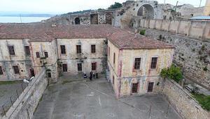 Sinop Tarihi Cezaevinde Roma dönemi kitabeleri bulundu