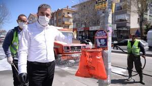 Başkan Çetin'den çöp tepkisi: 'İçine atmak çok mu zor'