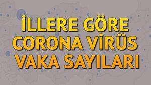 İllere göre koronavirüs vaka sayısı ve yatak doluluk oranları açıklandı - Sağlık Bakanlığı Ordu, Samsun, Sinop il il coronavirüs risk haritası