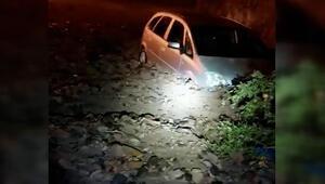 Artvinde 20 dakikalık yağış hayatı olumsuz etkiledi