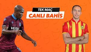 Trabzonspor beyaz sayfa açabilecek mi Yeni Malatyaspor karşısında iddaa oranı...