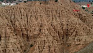 Erozyonla ortaya çıkan şaheser; Şeytan Şehri Kayalıkları