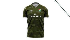 Bursaspor ilk kez kamuflaj formayı giyecek