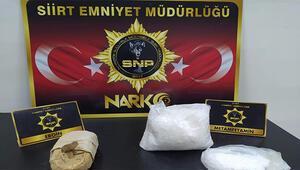 Siirt merkezli 2 ilde uyuşturucu operasyonu: 4 tutuklama