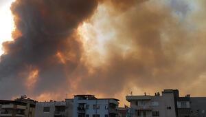 Söke'deki yangın Dilek Yarımadası Milli Parkını tehdit ediyor
