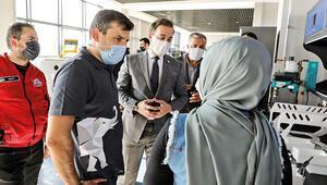 Adalet Bakanı Gül ve Bayraktar'dan HKÜ'ye ziyaret