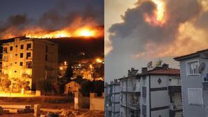 Son dakika haberler: Sökede orman yangını paniği Çok sayıda ev tahliye edildi