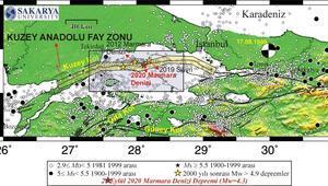 'Marmara Denizi'ndeki deprem Silivri depreminin artçısı olabilir'
