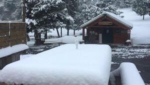 İsviçre'de eylülde kar sürprizi
