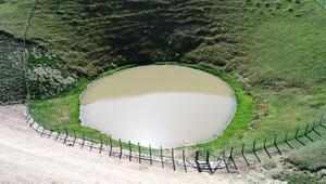 Dipsiz Göl eski haline döndü...
