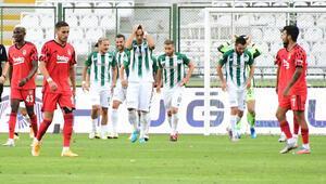Konyaspor 4-1 Beşiktaş (Maçın özeti ve golleri)