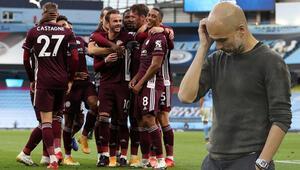 Son dakika haberi | 7 gollü maçta Leicester City, Manchester Cityyi devirdi