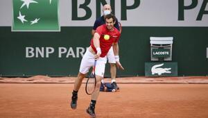 Andy Murrayden Fransa Açıka erken veda