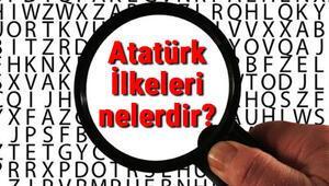Atatürk İlkeleri nelerdir Atatürk İlkelerinin kısaca açıklamaları