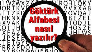 Göktürk Alfabesi kaç harf ve nasıl yazılır Göktürk Alfabesi özellikleri ve bu alfabe ile yazılan eserler