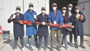 Tanyeli Roket Takımı alçak irtifa kategorisinde Türkiye birincisi oldu