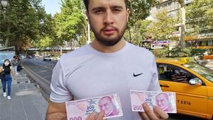 'Hatalı basım' 200 lirayı, 250 bin liradan satışa çıkardı