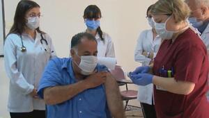 Son dakika haberler... Cerrahpaşada da ilk koronavirüs aşısı yapıldı