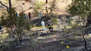 Antalyadaki orman yangınında dehşet Yanmış erkek cesedi bulundu