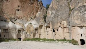 Kapadokyada Hallaç Manastırı, turizme kazandırılmayı bekliyor