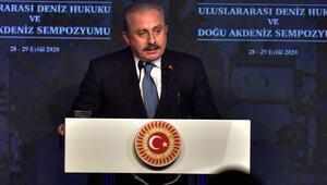 TBMM Başkanı Şentop 'Uluslararası Deniz Hukuku ve Doğu Akdeniz Sempozyumu'nda konuştu