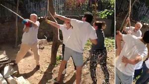 Beykoz'da komşular arasında kavga Sopa ile saldırdı…