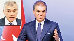 AK Parti Sözcüsü Ömer Çelik: 'Çeviköz'ün açıklaması ahlakdışı provokasyon'