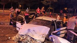 Bilecik'te feci kaza: 1 ölü, 3 yaralı