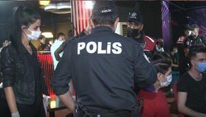 Başkentte 750 polisin katılımıyla koronavirüs denetimi