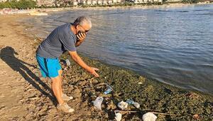 Altınkum Plajında kirlilik uyarısı