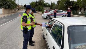 Edirnede jandarmadan 98 bin 118 kişiye trafik eğitimi