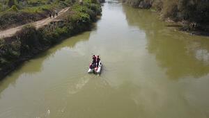 Suda kaybolan 12 yaşındaki çocuk için ekipler seferber oldu