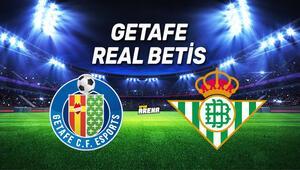 Getafe Real Betis maçı saat kaçta, hangi kanalda
