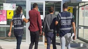 Elazığ'da hırsızlık şüphelisi 2 kişi yakalandı