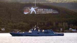 Rus savaş gemisi Admiral Essen Akdeniz'e iniyor