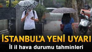 Hava bugün nasıl olacak, yağmur yağacak mı Hava durumu tahminleri 30 Eylül 2020 İstanbul için sağanak uyarısı