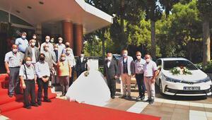 Gençlere düğün yardımı: Gelinlik, damatlık ve gelin arabası ücretsiz sağlanacak
